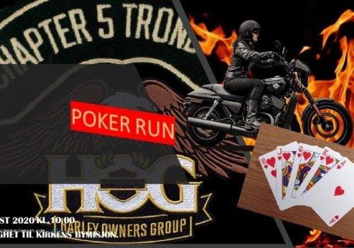 Invitasjon til Poker Run…
