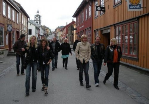 Chaptertur til Røros 13.-14.06.2009