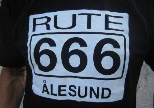 ROUTE 666 - ÅLESUND…